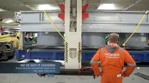Höegh Autoliners - Loading Driers, Video
