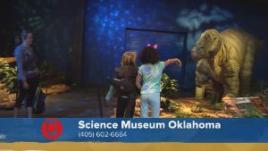 "Science Museum Oklahoma ""Red Dirt Dinos"" Exhibit"