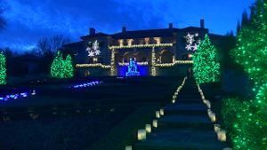 Philbrook Museum at Christmas
