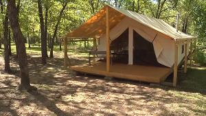 Osage Hills State Park Wall Tents