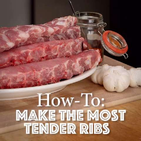 Quick tips: How to make the most tender ribs