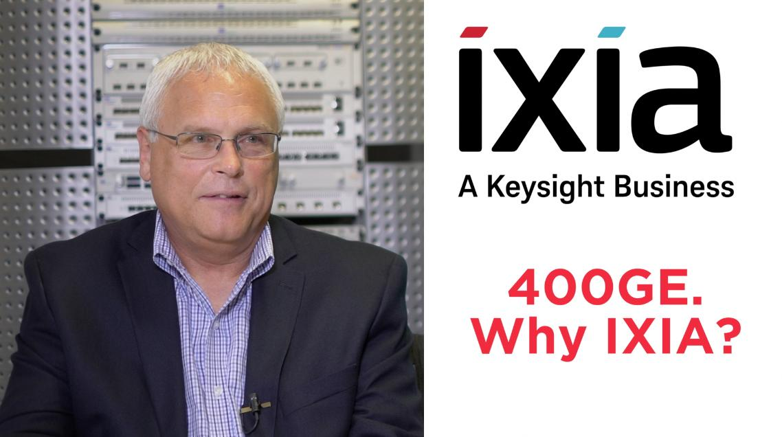 Ixia Launches World's First 400GE Testing Solutions | Light
