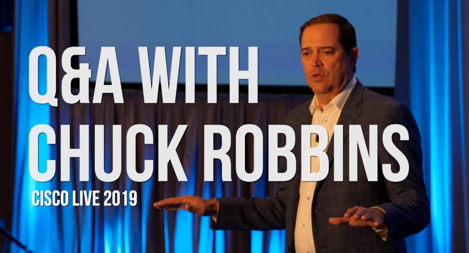 Cisco CEO Chuck Robbins Answers All the Questions | Light Reading