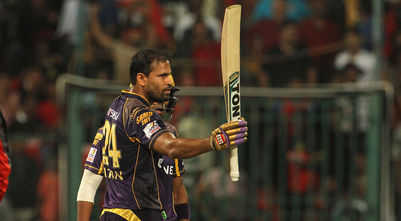 M30: RCB vs KKR – Yusuf Pathan 60*
