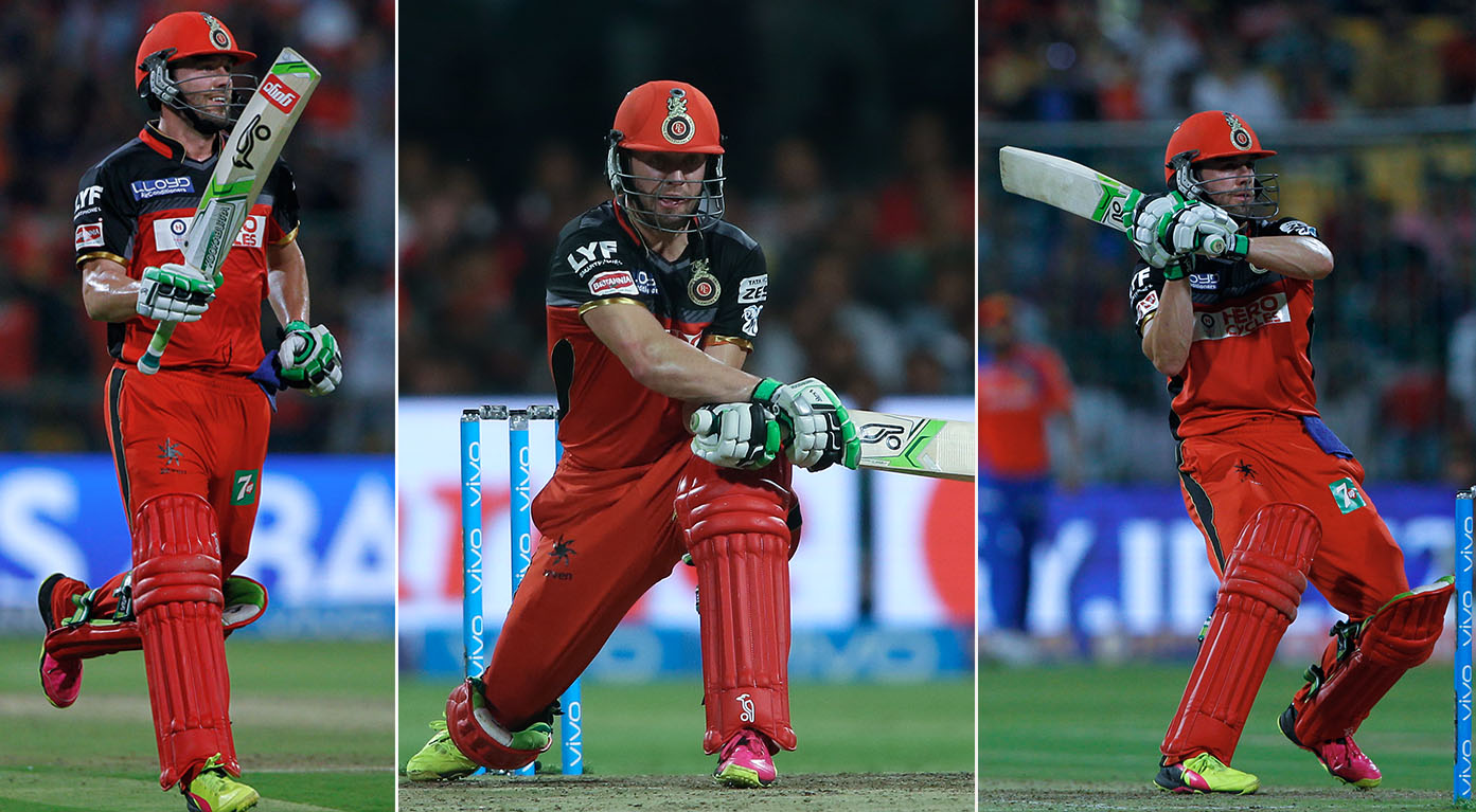 m57 gl vs rcb man of the match ab de villiers