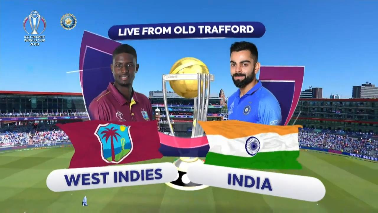 CWC 2019: WI vs India - Match Highlights