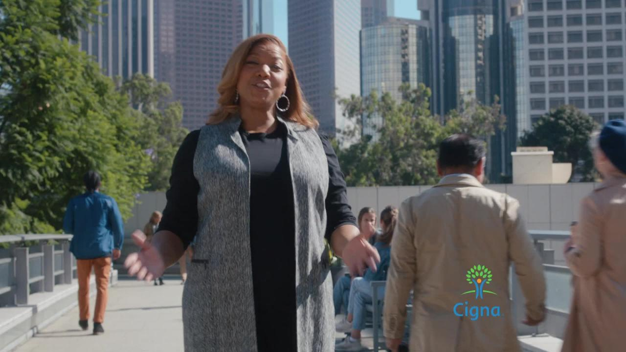 Queen Latifah Nick Jonas Featured In New Cigna Campaign Agency