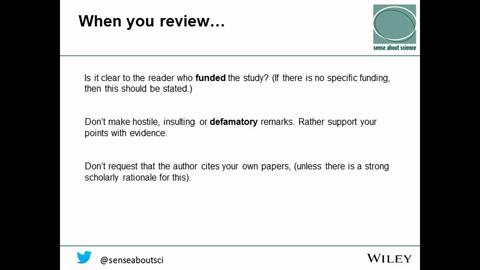 Step By Step Guide To Reviewing A Manuscript Wiley