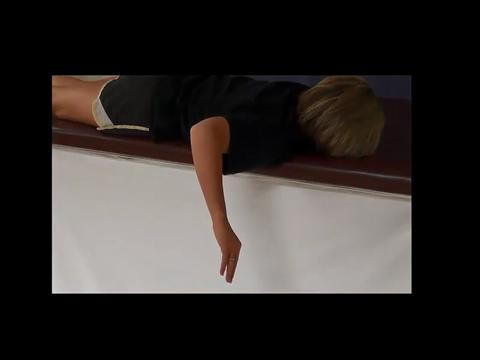 Prone Shoulder Horizontal Abduction With External Rotation