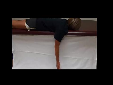 Prone Shoulder Extension