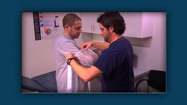 How to Apply a Shoulder Sling and Swathe and Shoulder Immobilizer