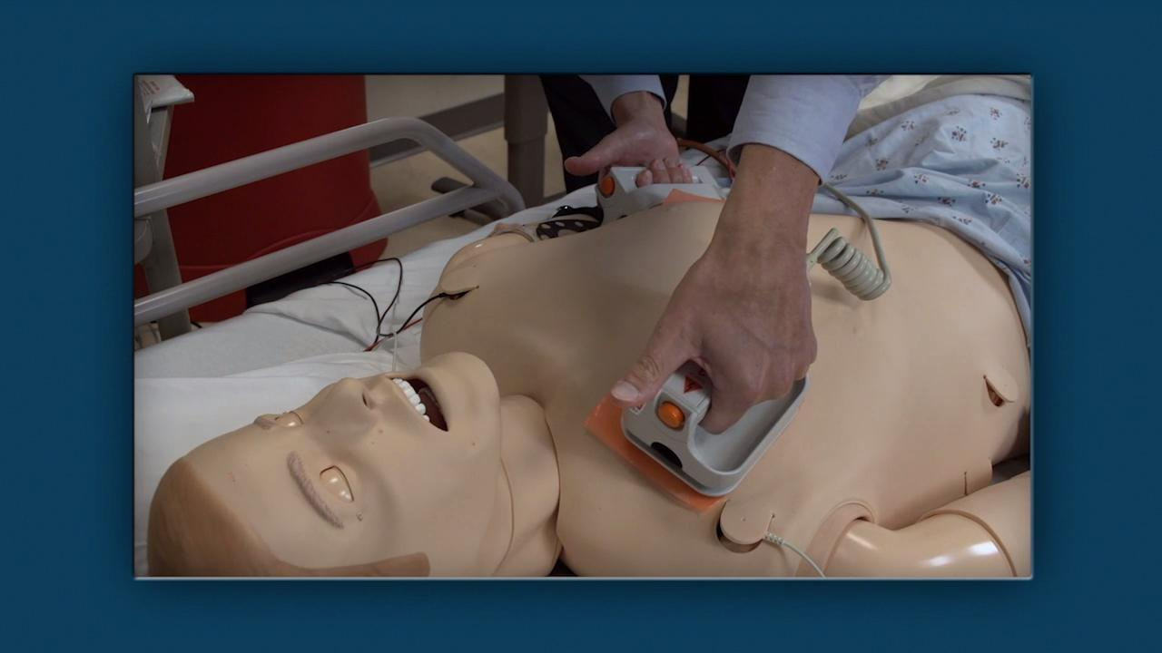 How To Do Defibrillation In An Adult
