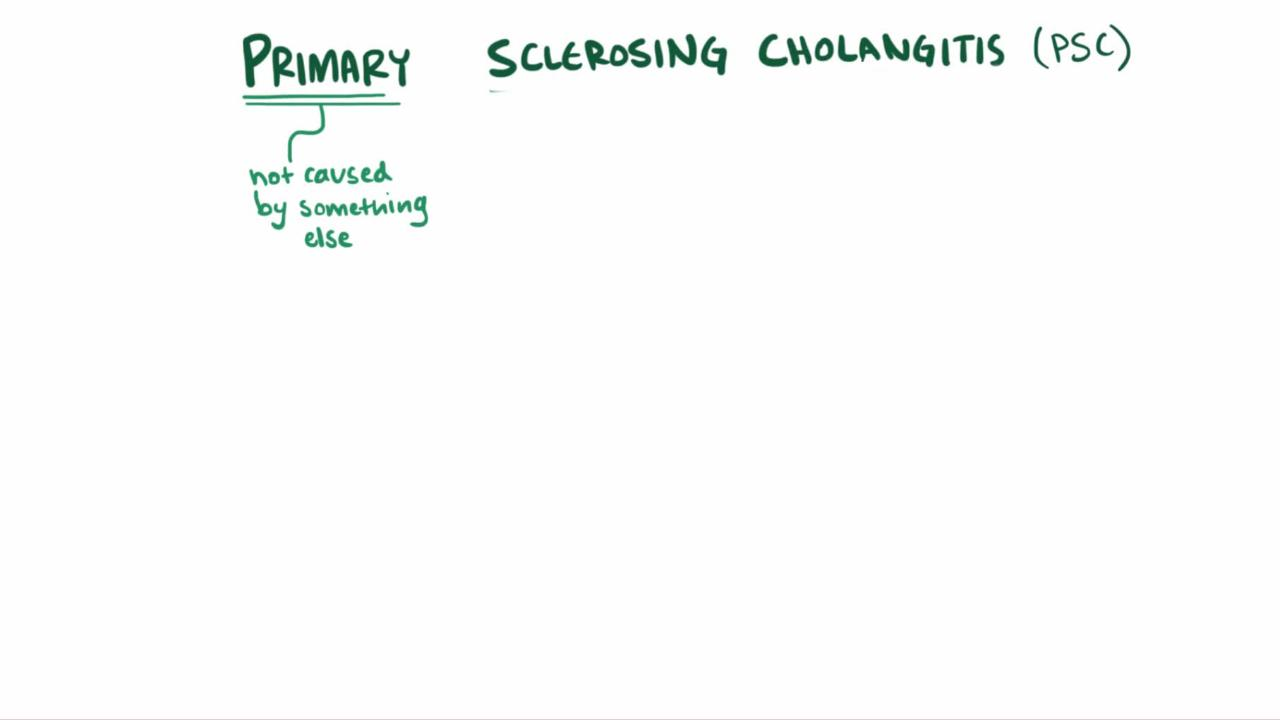 Overview of Primary Sclerosing Cholangitis (PSC)