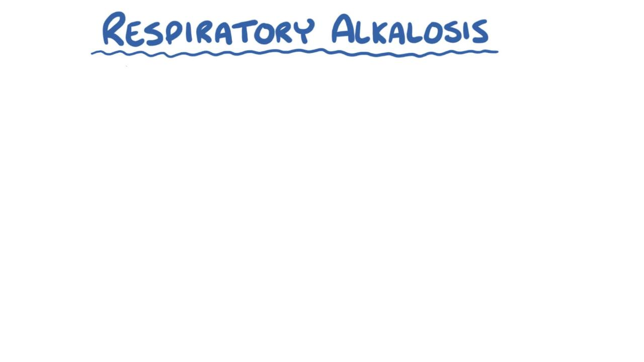 Overview of Respiratory Alkalosis