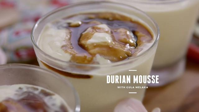 Ep 3: (Recipe Video) Durian Mousse with Gula Melaka | Cooking For Love