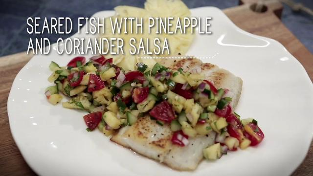Ep 12 - Seared Fish with Pineapple and Coriander Salsa | Simply Special with Sarah Benjamin