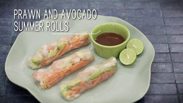 Ep 13 - Prawn and Avocado Summer Rolls | Simply Special with Sarah Benjamin