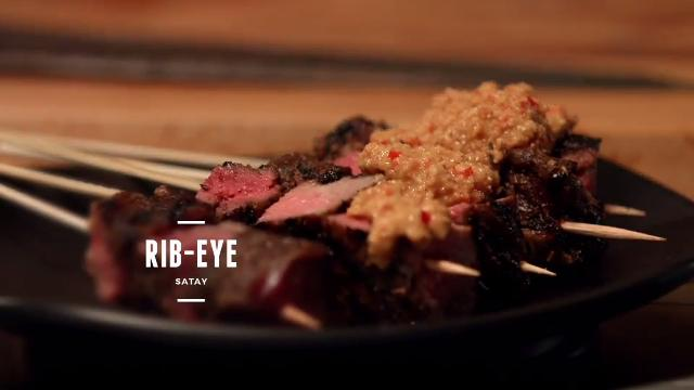 Ep 4: (Recipe Video) Ribeye Satay | Cooking For Love