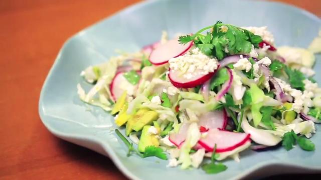 Ep 1: Avocado Cabbage Slaw | Kitchen Quickies