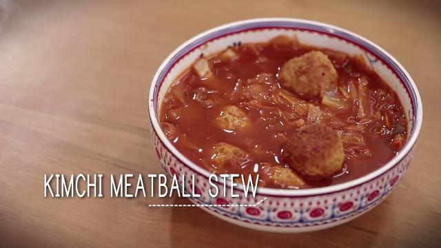 Ep 29: Kimchi Meatball Stew | Simply Special