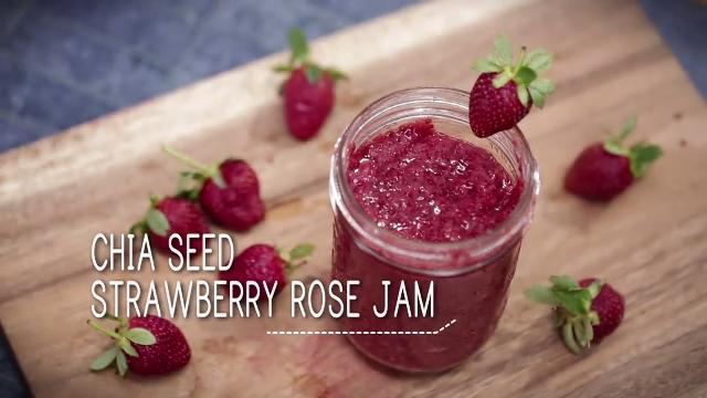 Ep 31: Chia Seed Strawberry Rose Jam | Simply Special
