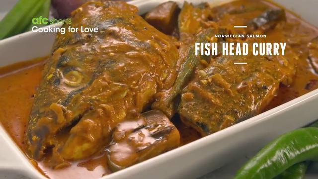 Norwegian salmon fish head curry asian food channel ccuart Image collections
