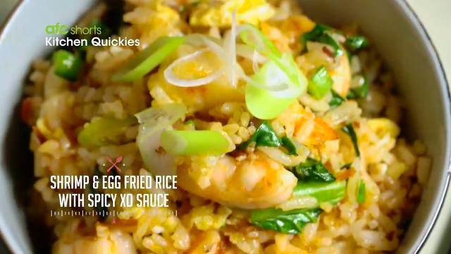 shrimp and egg fried rice with xo sauce kitchen quickies - Xo Kitchen
