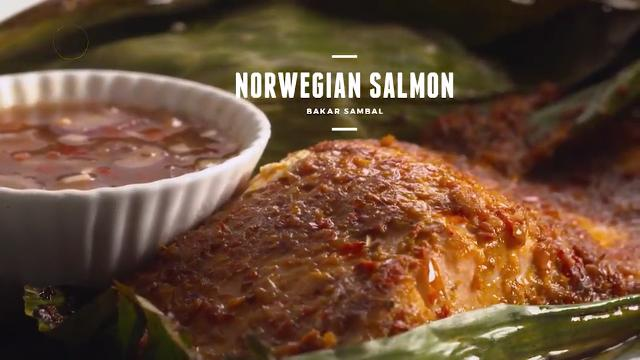 Norwegian salmon bakar sambal with jasmine rice asian food channel ccuart Image collections