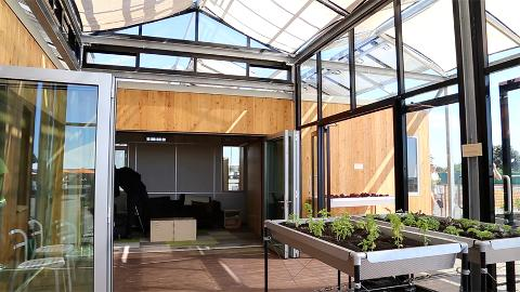 Cool Grow Home Merging Greenhouse And Home Architect Magazine Home Remodeling Inspirations Gresiscottssportslandcom
