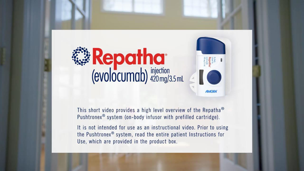How To Inject Repatha Evolocumab Sureclick Autoinjector Or