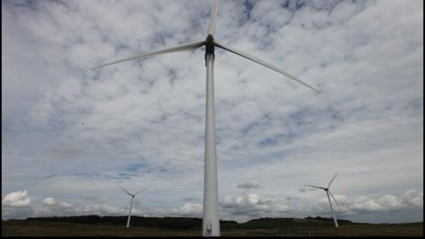 Northumberland wind farms