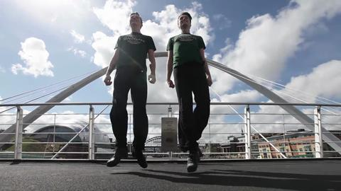 Video: Riverdance cast members Craig Mason and Shane Cummins