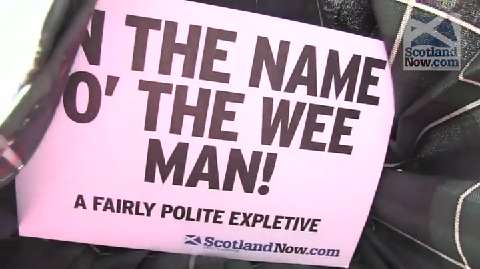 Video: Scottish phrases at the Edinburgh Fringe