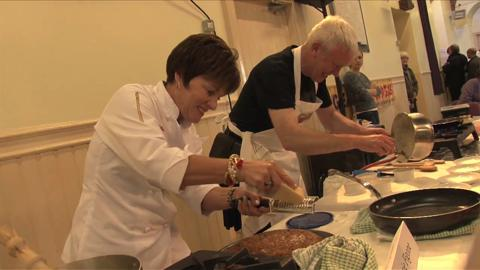 Video: Scotland Now - The Golden Spurtle - World Porridge Making Championships