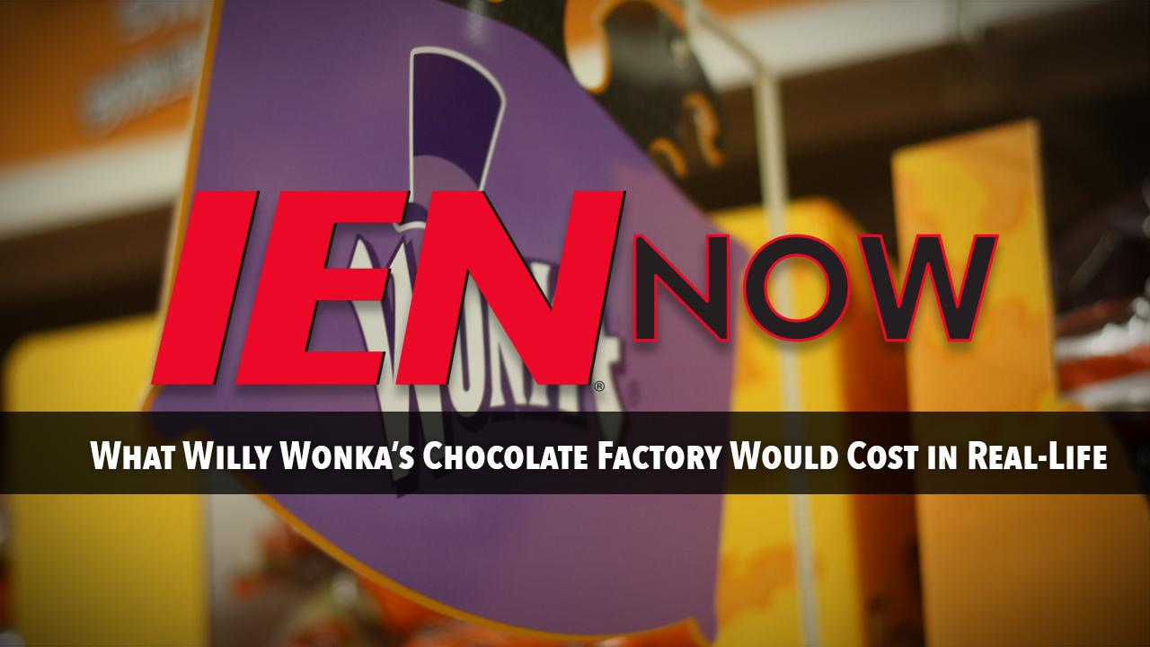 Here's What Willy Wonka's Chocolate Factory Would Cost in Real-Life