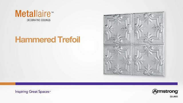 Metallaire - Hammered Trefoil