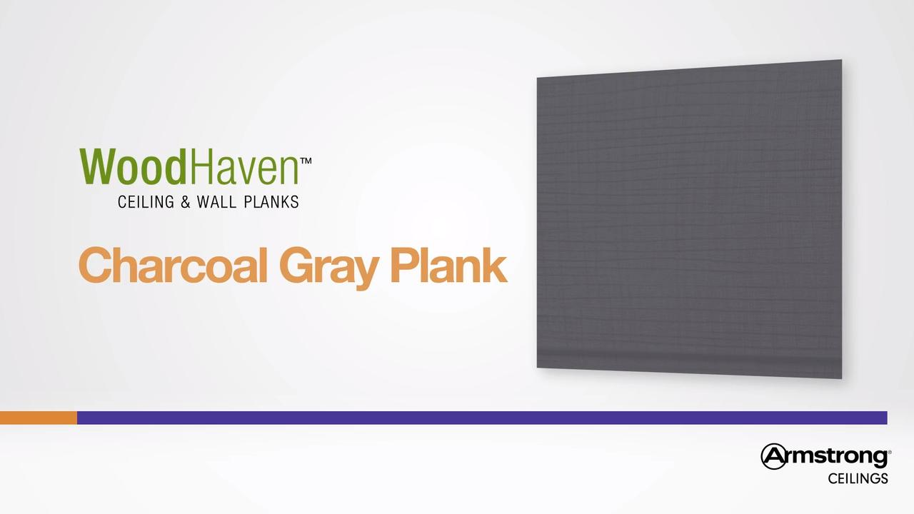 WoodHaven Woven Charcoal Gray