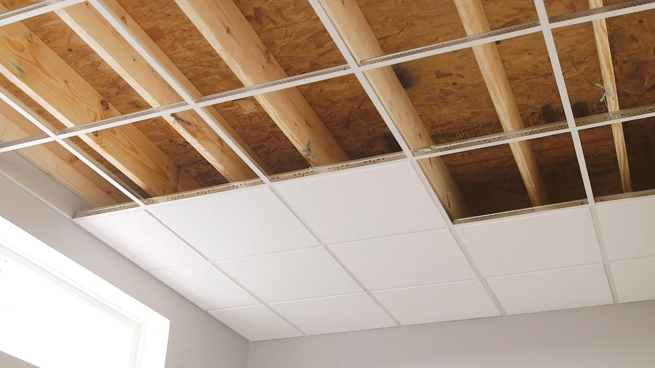 Drop Ceiling Installation | Ceilings | Armstrong Residential