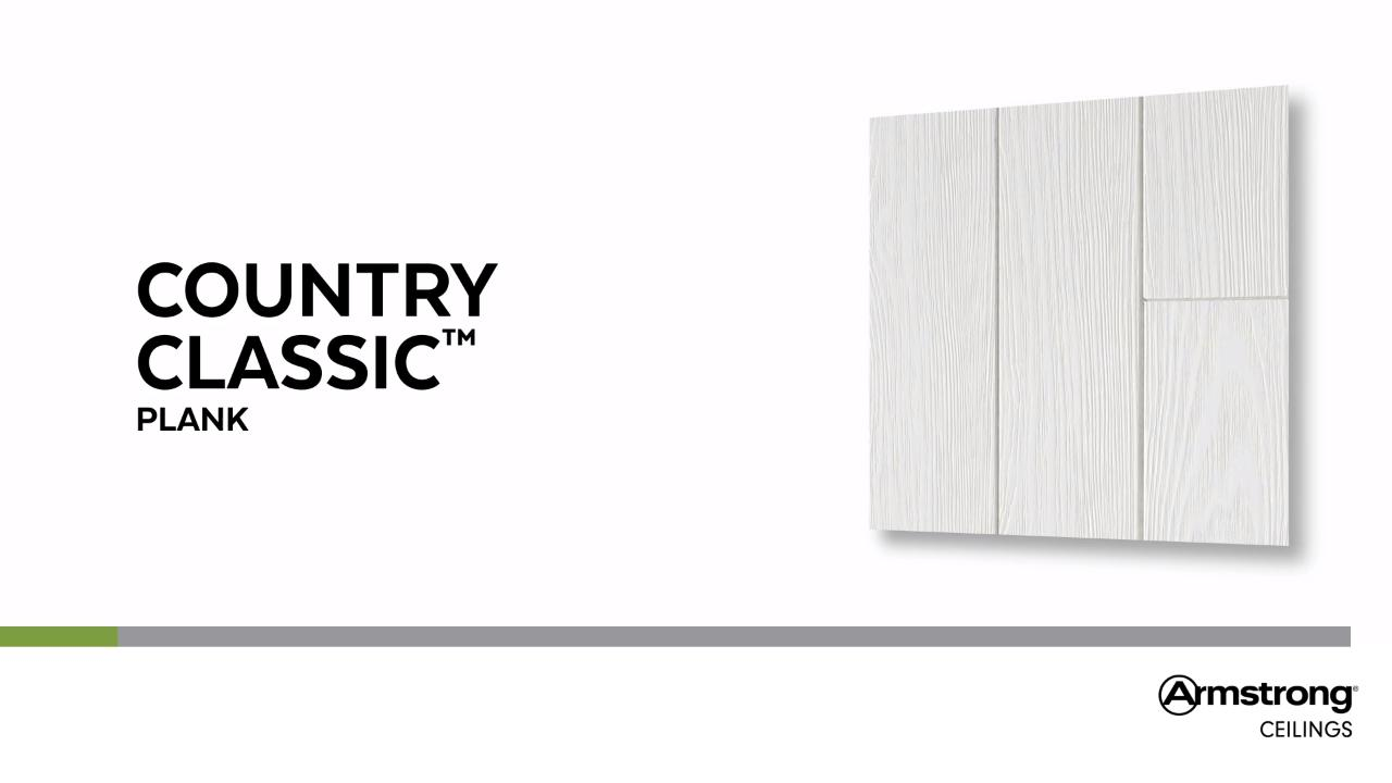 Country Classic Plank