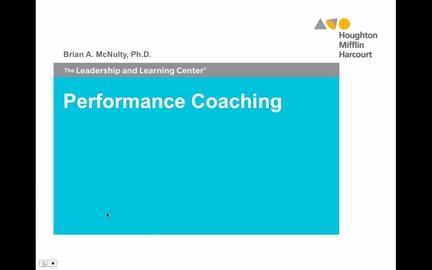 Performance Coaching - Preview