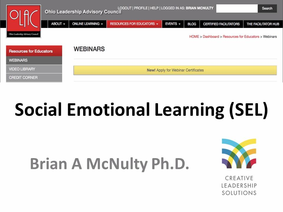 Social Emotional Learning (SEL) - Preview
