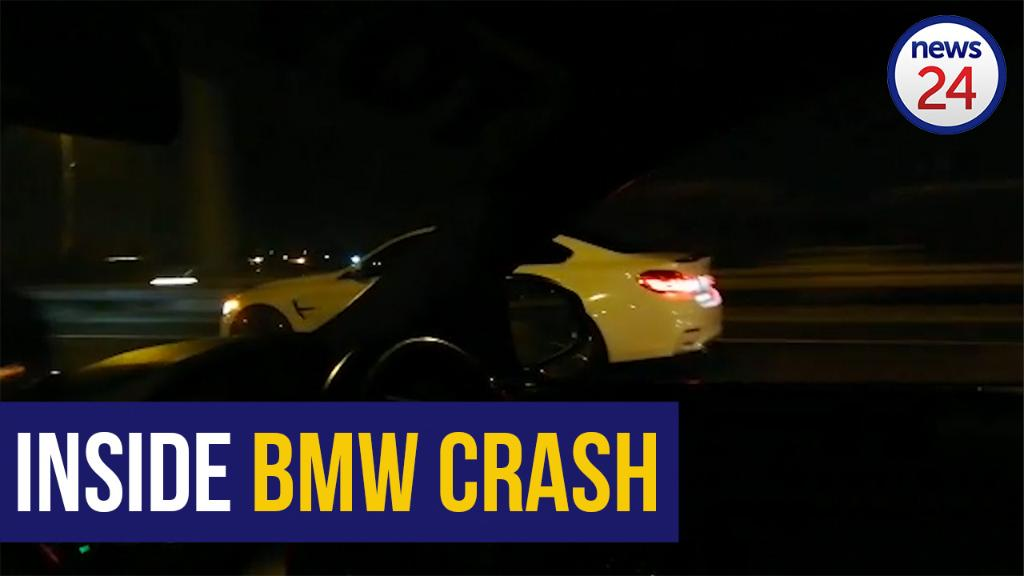 WATCH - BMW horror crash: Presence of passenger in car 'a