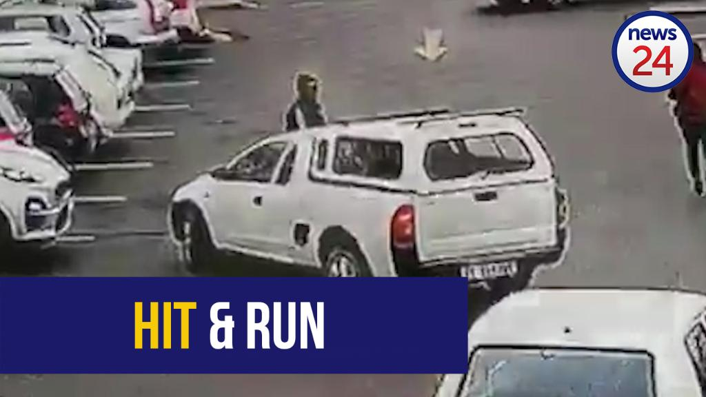 Police still searching for robbers who drove over Pretoria security