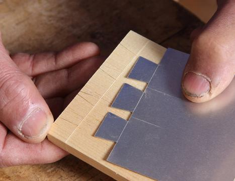 picture relating to Printable Dovetail Template titled Shopmade Templates Simplify Dovetail Design and style