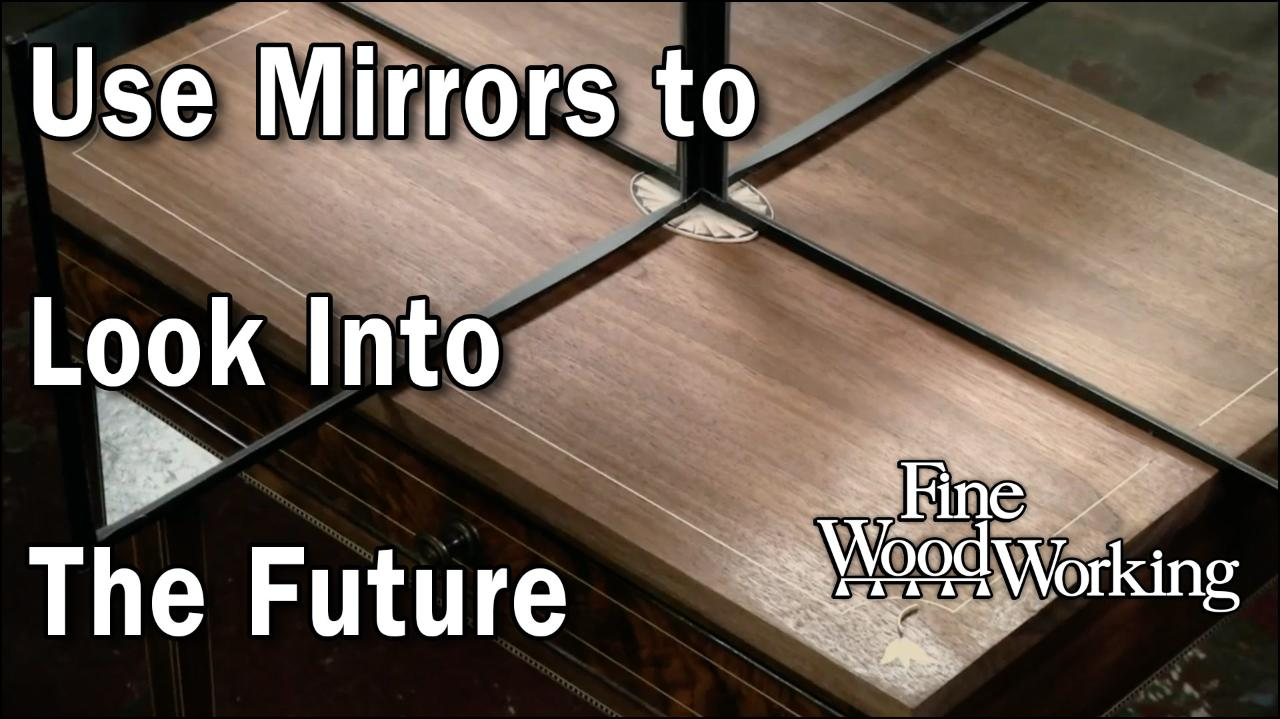 Video: How To Mockup Federal-Style Inlays - FineWoodworking
