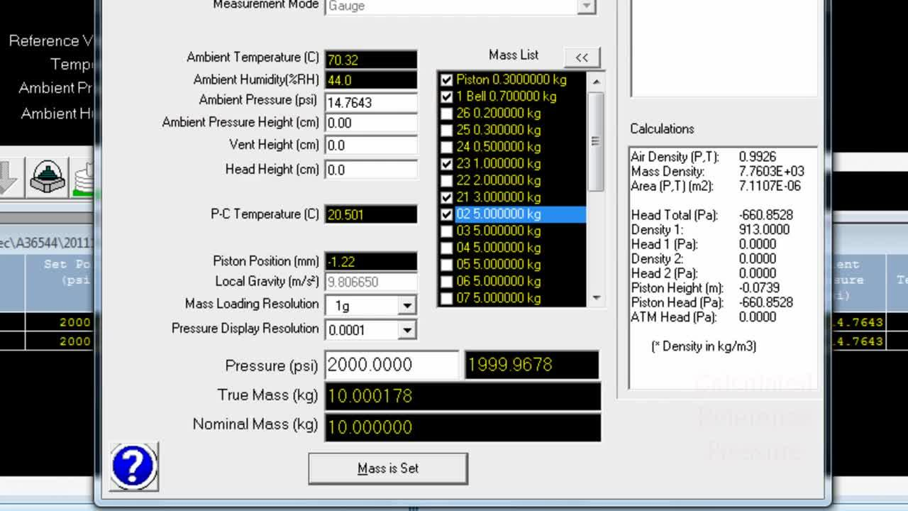 Compass for Pressure Calibration Software Video Overview