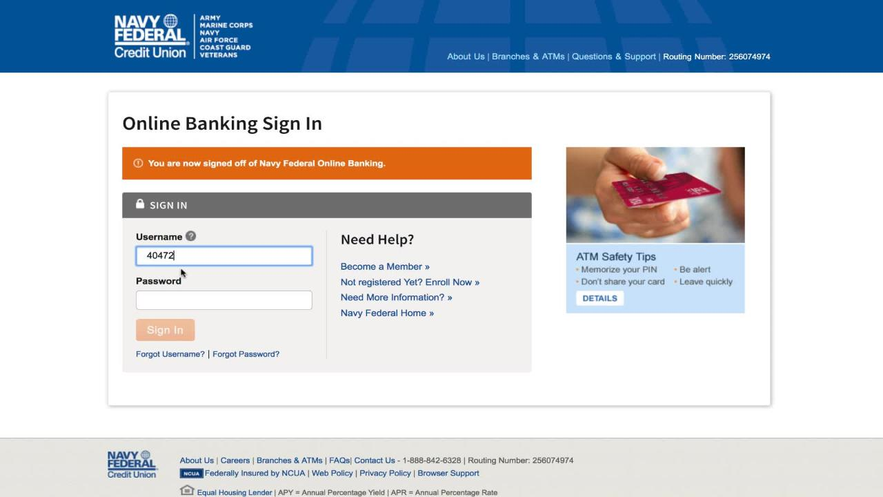 Introducing 2-Step Verification | Navy Federal Credit Union