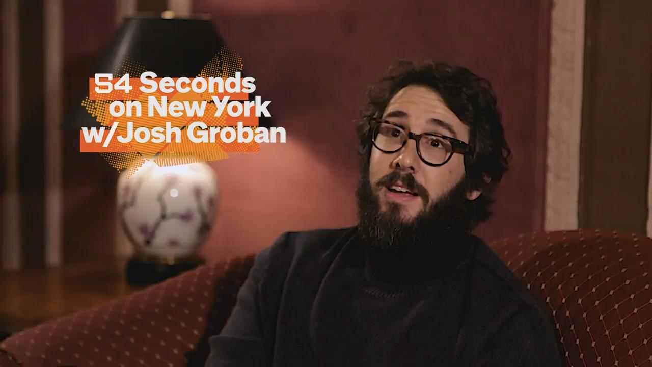 54 Seconds with Josh Groban | The Official Guide to New York City