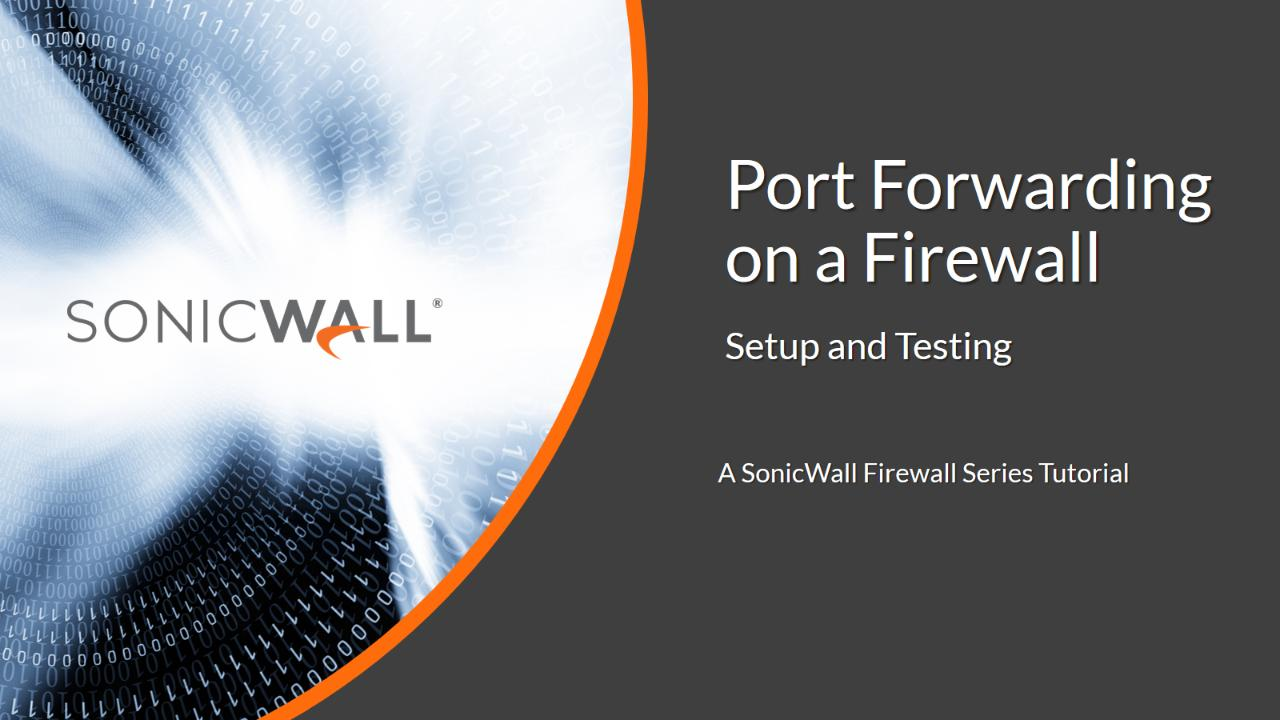 How to Enable Port Forwarding and Allow Access to a Server