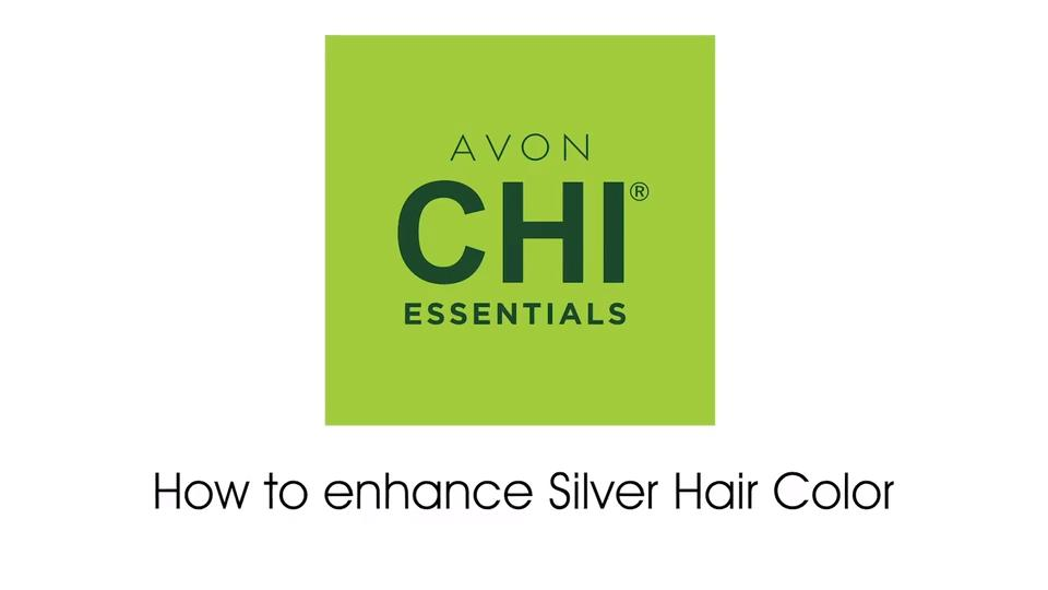 Avon Chi Essentials How to enhance silver hair (10S Extra Light Silver Blonde)